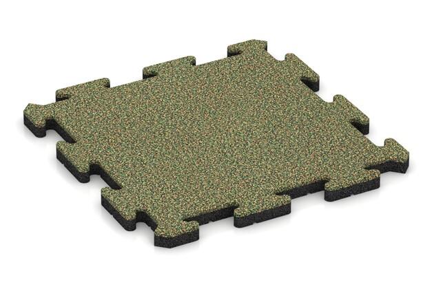 Poolfliese von WARCO im Farbdesign Savanne mit den Abmessungen 500 x 500 x 30 mm. Produktfoto von Artikel 2737 in der Aufsicht von schräg vorne.