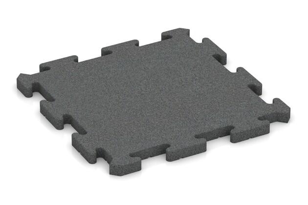 Ballspielplatte pro von WARCO im Farbdesign schiefergrau mit den Abmessungen 500 x 500 x 30 mm. Produktfoto von Artikel 4176 in der Aufsicht von schräg vorne.